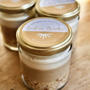 Banoffee Jam Jar Cheesecake